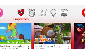 YouTube Kids Dank COPPA bald einzige (Einschätzung persönliche Meinung)