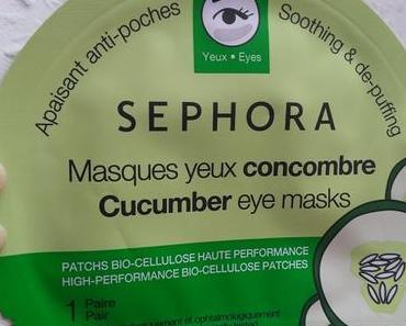 [Werbung] Sephora Cucumber eye masks + Beauty Language Eyelash Curler