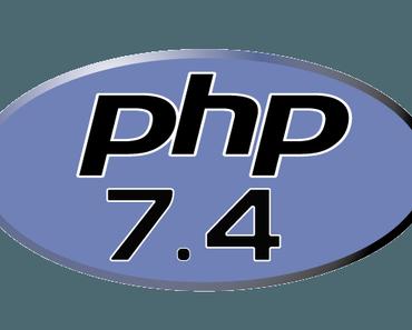 PHP 7.4 wurde heute veröffentlicht