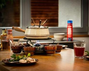 Lecker: Raclette und Fondue