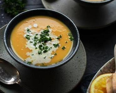 Orangen-Süßkartoffelsuppe – Mom's cooking friday