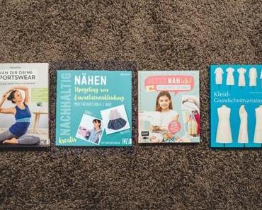 Nähbücher Rezension: Sportswear, Upcycling für Babys, Kleid aus Grundschnittvariationen und Nähschule für Kinder