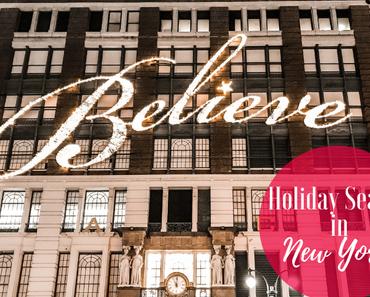Reisen - Vorweihnachtszeit in New York | The Nina Edition