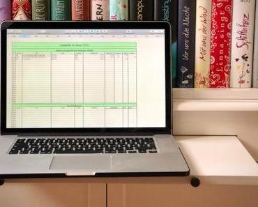 Excel-Tabelle für Lesestatistik 2020