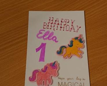 DIY – Geburtstagskarten