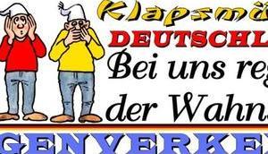 Deutschland Gegenverkehr; Steuerzahler gehen, Sozialhilfeempfänger kommen…