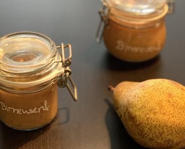 geschenke aus der küche – birnensenf