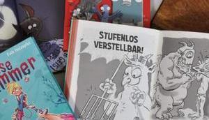 Wenn Lesen Wow! macht Illustrierte Bücher Lesemuffel