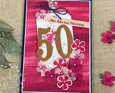 Blumige Überraschung zum 50. Geburtstag