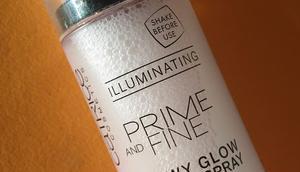 [Werbung] Catrice Prime Fine Dewy Glow Fixing Spray