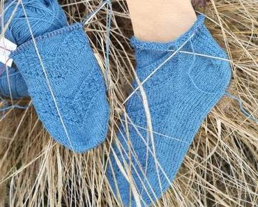 Speckled Space Socks und…