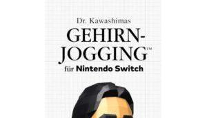 Kawashimas Gehirn-Jogging Test Nerd knobbelt sich jung