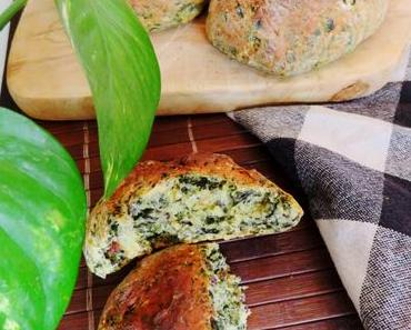 Spinat-Brötchen – fluffig & vegan