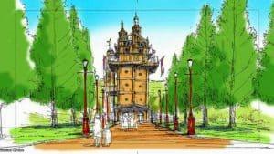 Neue Illustrationen für den Ghibli-Themenpark aufgetaucht