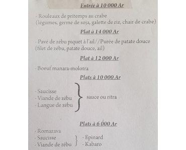 Restaurant Duo Antananarivo