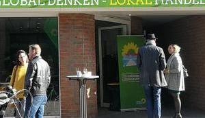 Grüne haben Büro Münsterstraße aufgemacht