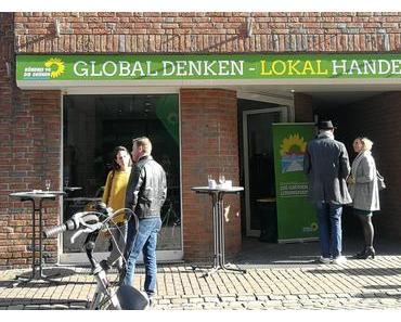 Grüne haben Büro in der Münsterstraße aufgemacht
