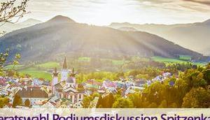 Podiumsdiskussion Gemeinderatswahl-Kandidaten Mariazell