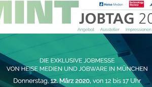 März wieder MINT-Jobtag München