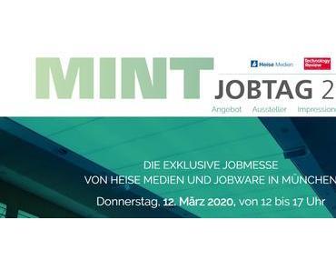 Am 12. März ist wieder MINT-Jobtag in München