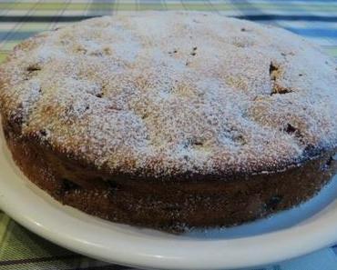 Sauerkirsch-Bananen-Kuchen