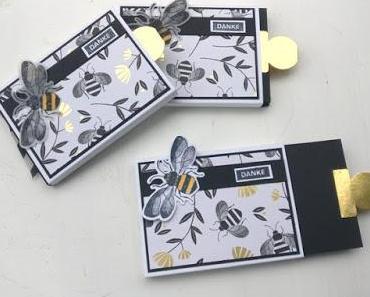 Stempelset Honey Bee Gastgeschenke und Grußkarte