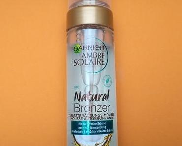 [Werbung] Garnier Ambre Solaire Natural Bronzer Selbstbräunungs-Mousse
