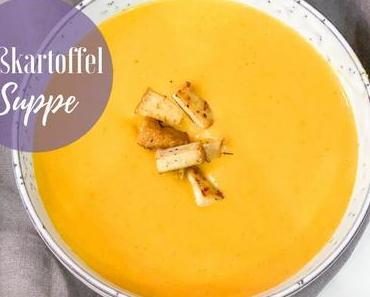 Rezept - Süßkartoffel Suppe | The Nina Edition