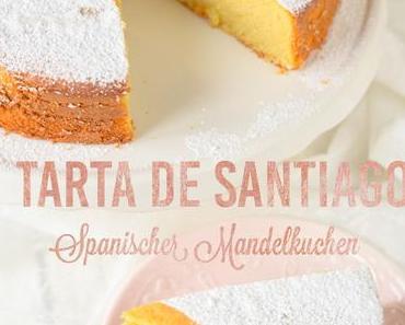 """Spanischer Mandelkuchen  a la """" Tarta de Santiago"""" – spanish almond cake"""