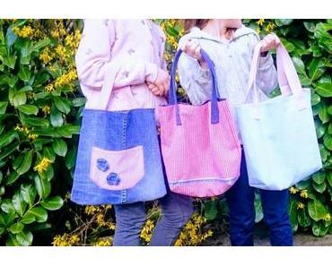 Tasche nähen: Kinder Tasche WARNA