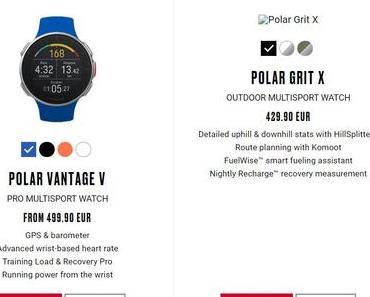 Polar Grit X – Finnen basteln an neuer Outdoor-Sportuhr