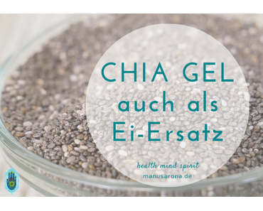 Chia Gel für Smoothies, Desserts und als veganer Ei-Ersatz