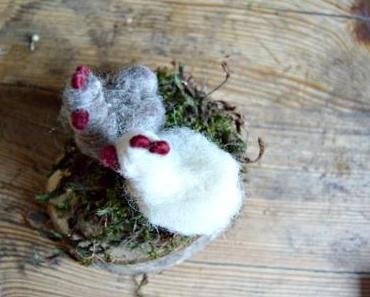 ein Huhn filzen - meine Anleitung