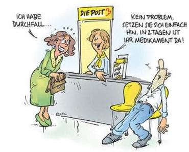 Medikamentenversand in der Schweiz (Jetzt)