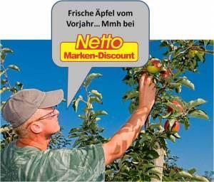 Der Apfel fällt nicht weit vom Stamm: Netto und die irreführende Werbung