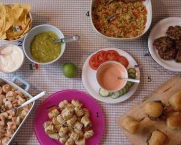 Und wieder etwas aus der leckeren neuen Kleine-Köstlichkeiten-Serie: 2. Nachos mit selbstgemanschter Guacamole und Aioli