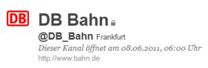 Deutsche Bahn bietet Kundenhilfe via Twitter