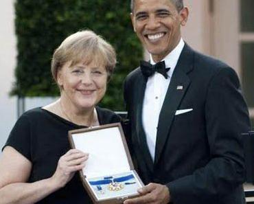 Die Bundeskanzlerin Angela Merkel in den USA