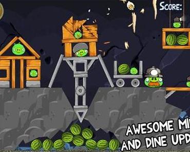 """""""Mine & Dine""""-Update für """"Angry Birds"""" verfügbar"""