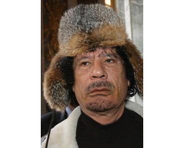 Gaddafi informiert russischen Besuch