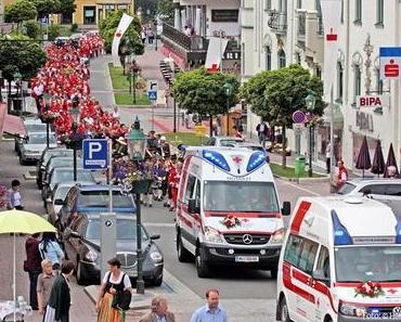 Rotkreuz Wallfahrt nach Mariazell