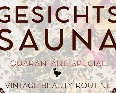 Quarantäne Special: Gesichtsdampfbad