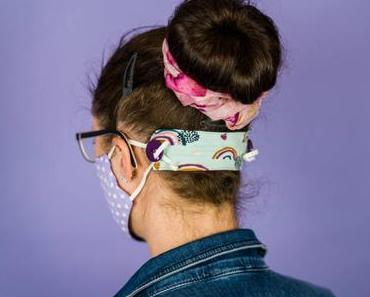 Ear Saver: Anleitung für ein Knopf-Band für genähte Mundschutz Masken
