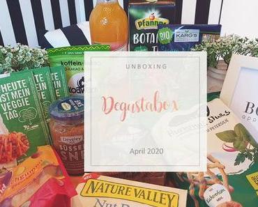 Degusta Box - April 2020 - unboxing