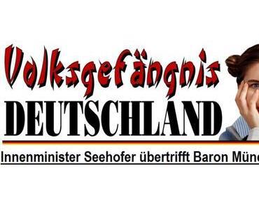 Innenminister Seehofer übertrifft Baron Münchhausen