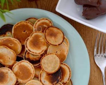 Vegane mini Pancakes