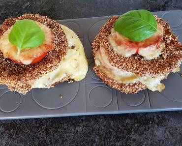 Überbackener Sellerieturm (ovo-lacto-vegetarisch)