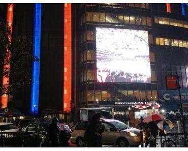 Zu Besuch im Madison Square Garden in New York
