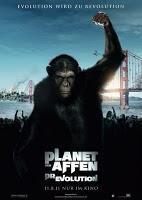 Deutsches Kinoplakat zu 'Planet der Affen: Prevolution' erschienen