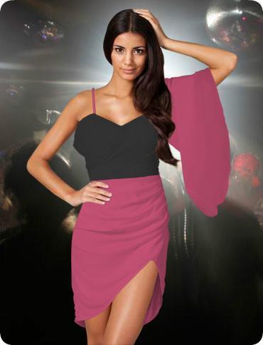 nelly.com Designe dein Eigenes Kleid